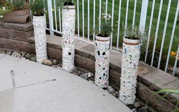 pvc mosaic planters
