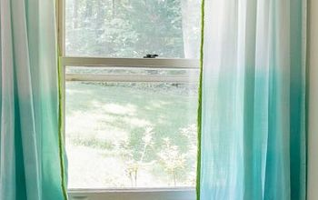 Anthropologie Inspired Ombre Curtains With Fringe
