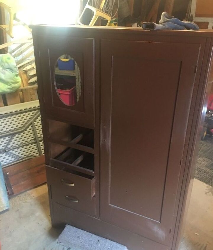 Homemade cabinet