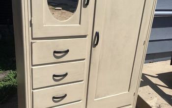 Ugly Armoire to Cute Little Armoire
