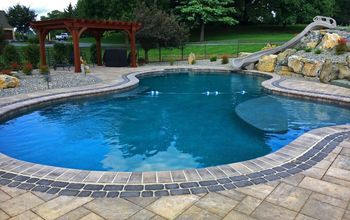 Swimming Pool Patio and Living Area
