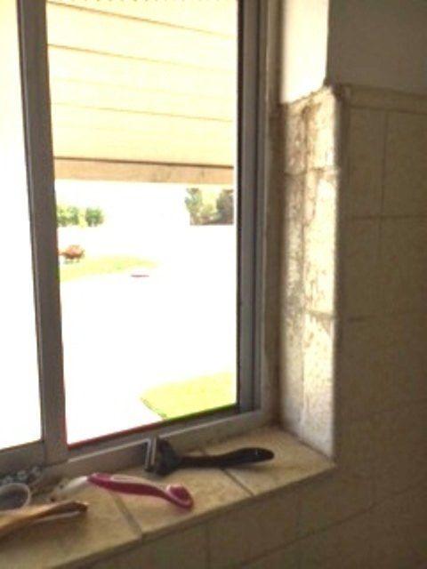q i m a renter how to fix cracked bath shower walls window