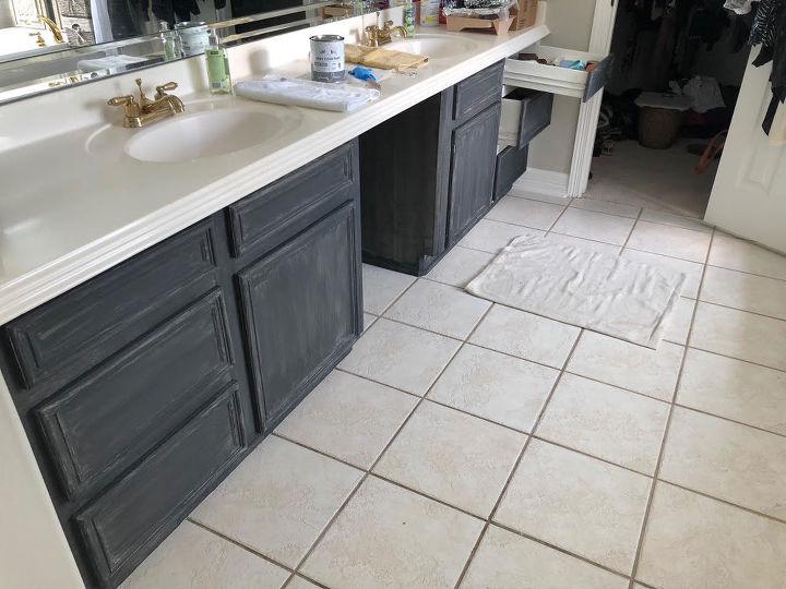 how to paint your bathroom vanity