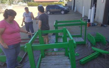 q repair rebuild goat obstacle course