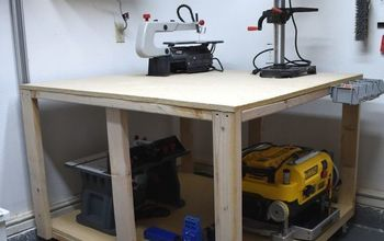 4' X 4' Workbench