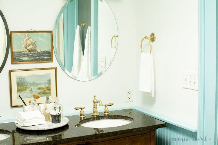 how to paint a bathroom faucet