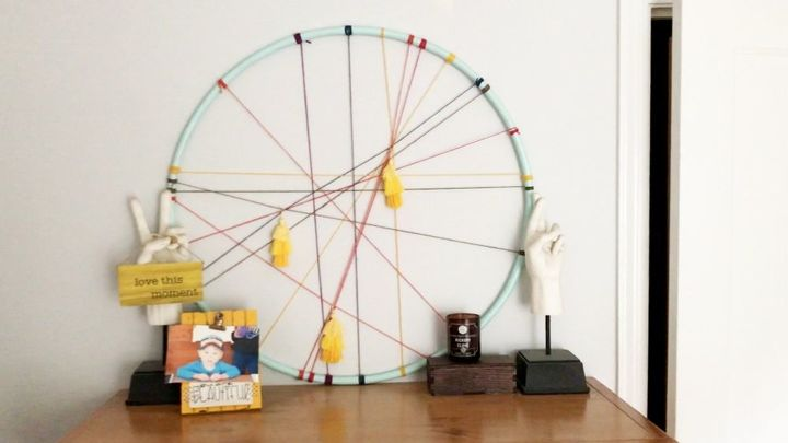 how to upcycle hula hoops