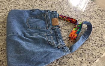 new life for denim jeans, Jean pants with pockets