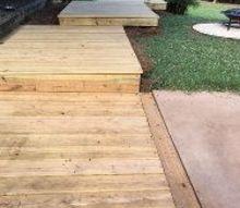 diy wooden boardwalk