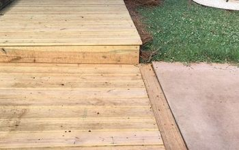 diy wooden boardwalk