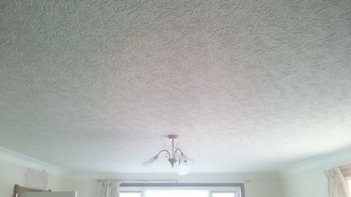 q textured ceiling paper dated