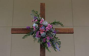 wedding cross diy