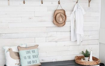budget friendly beach cottage mudroom