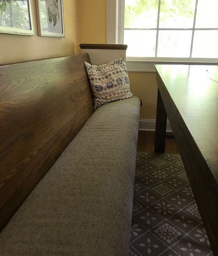 upfitting our dining room pew