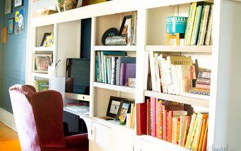 three ways to customize laminate bookshelves