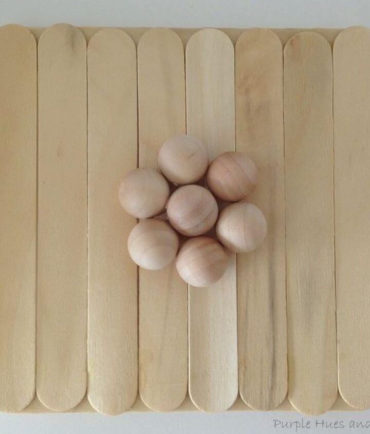 craft sticks container