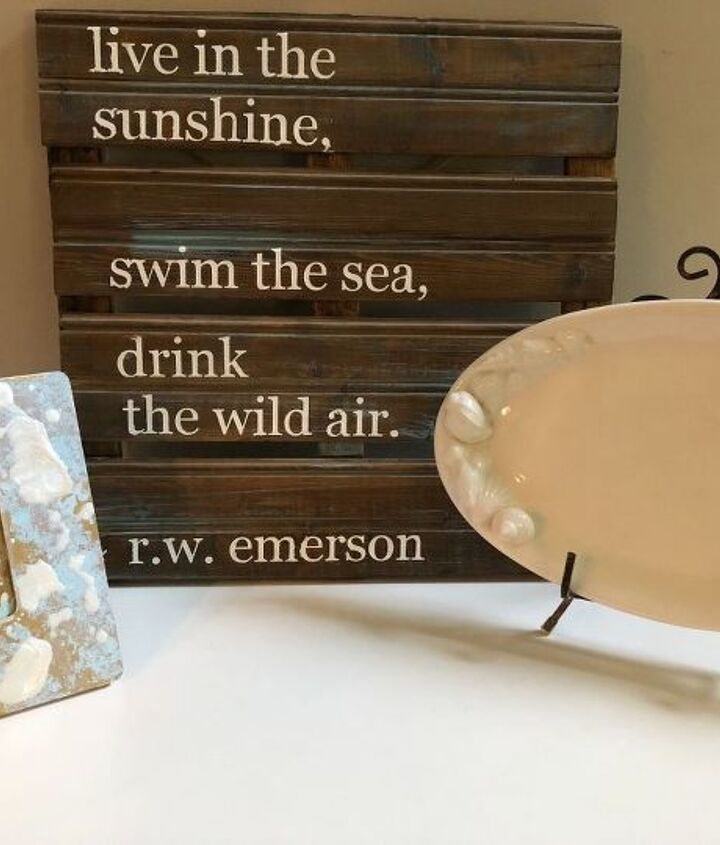 anthropologie inspired picture frame