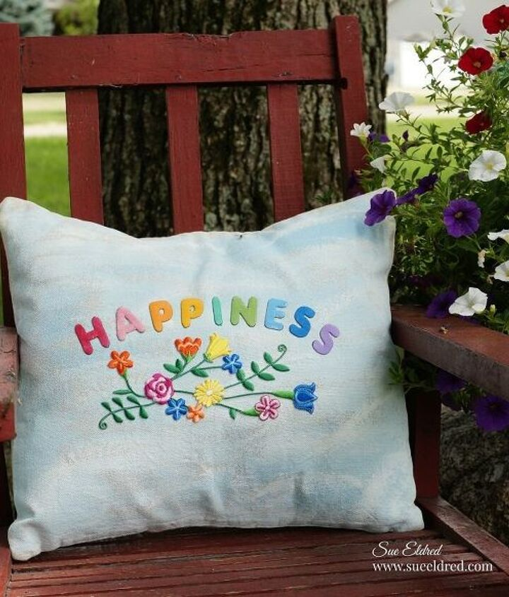 creating a happiness pillow