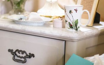 Re-Painting a Nightstand for Softer-Serene Look