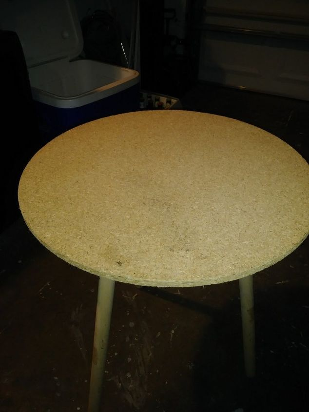 particle board table makeover