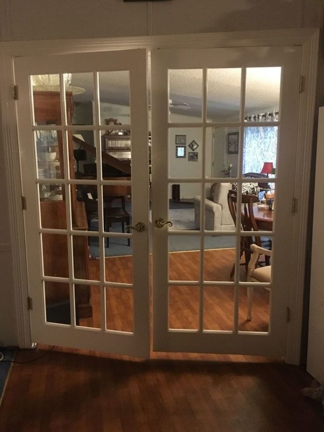 Q How Do I Make French Doors More Private