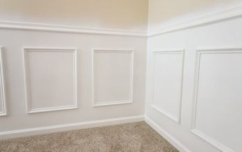 Easiest Way to DIY Install Wainscoting
