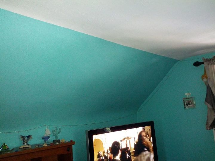 q how do i decorate my bedroom when i hate the color of the walls and c