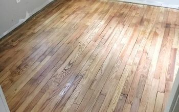 refinishing 100 year old floors using only oil