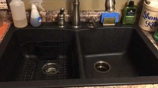 Astounding How Do I Refinish My Black Enamel Kohler Kitchen Sink Download Free Architecture Designs Scobabritishbridgeorg