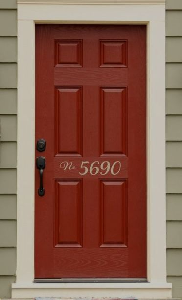 Q I M Going To Paint My Front Door A Deep Red