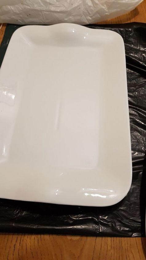 splatter paint plates