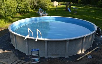 how to install your own above ground pool