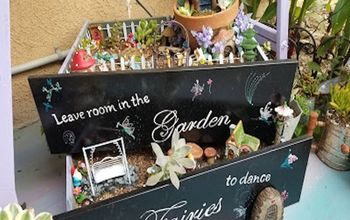 fairy garden drawers