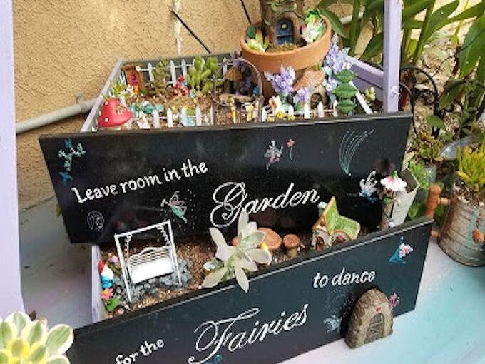 fairy garden drawers