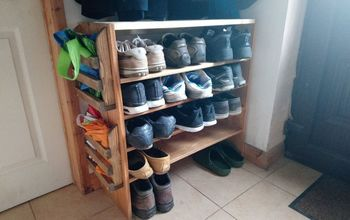 uprading an old shoe rack