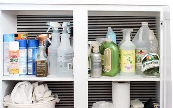 Cleaning Cabinet Makeover