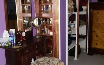 linen closet build