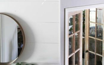 how to end crown molding when there s no transition