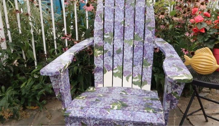 new life for an old chair