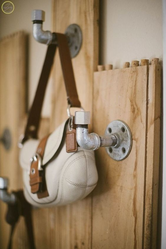 farmhouse coat rack for small spaces