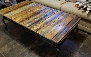Coffee Table From Pallet Wood