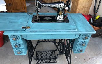 1911 Singer Sewing Machine Makeover