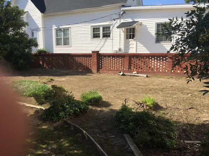 q how to turn a long neglected yard into a beautiful flower paradise
