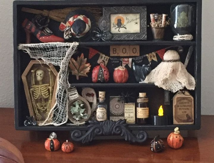 From Hopeless Discard to Halloween Decor