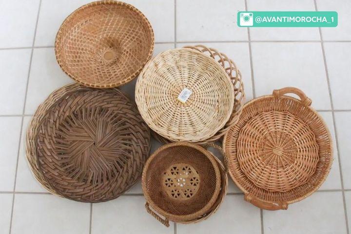diy decorative wall baskets