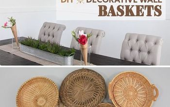 diy decorative wall baskets