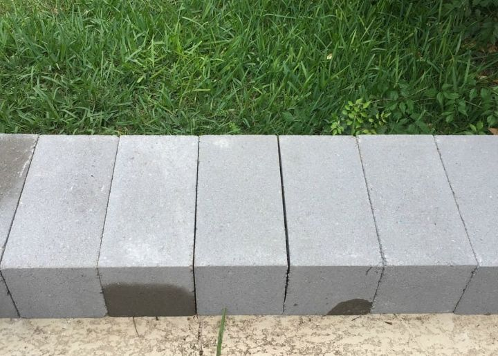 Create More Outdoor Seating With A Diy Cinderblock Bench
