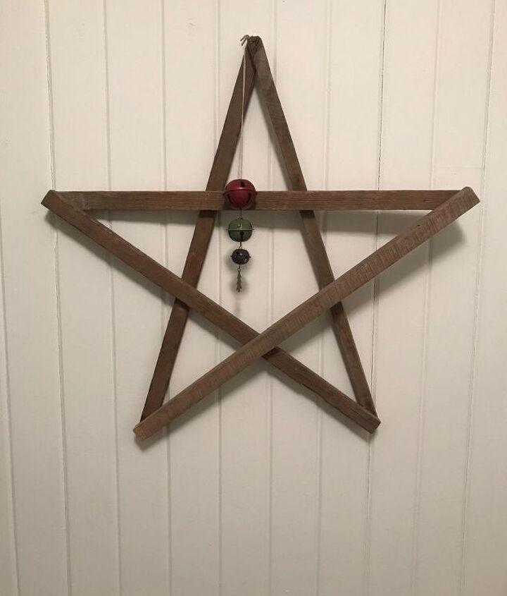 creating a tobacco stick decorative star