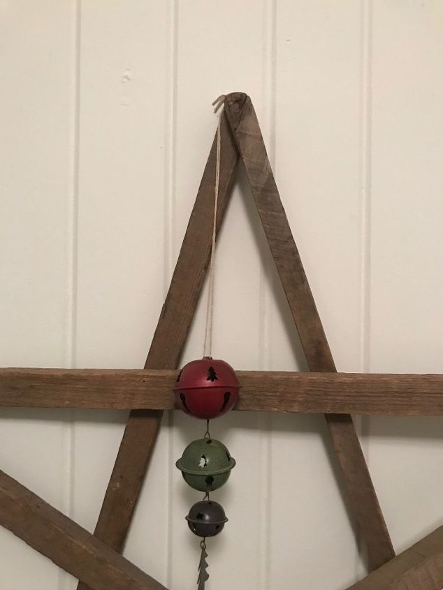 creating a tobacco stick decorative star