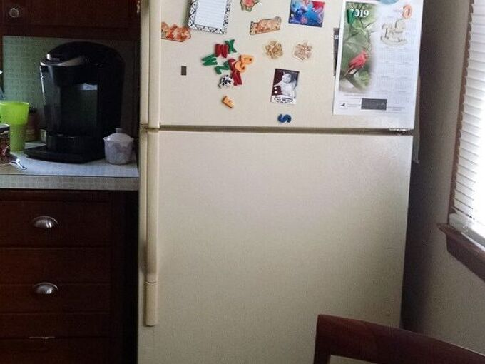 q how to make refrigerator fit